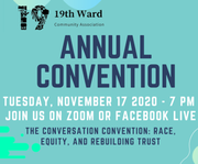 19th Ward Community Association 2020 Convention