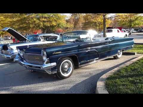 1959 Continental MkIV Convertible At the 2020 AACA Special Fall Nationals Video 5