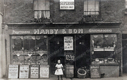 Harby & Son Greengrocers, c1912