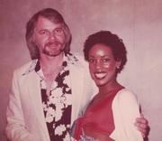 "Joyce A. Mikle with Ken Stabler ""Snake"" - Houston Oilers Derrick Doll Cheerleader 79-80"