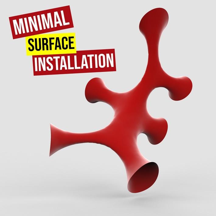 Minimal Surface Installation