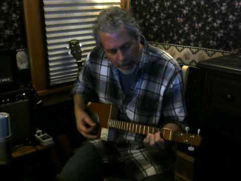 Dream Weaver cover on 3 string cbg