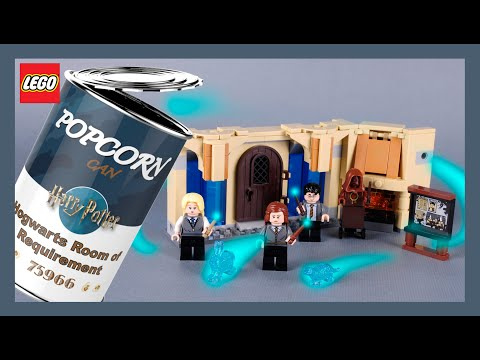 LEGO Harry Potter Hogwarts Room of Requirement 75966 Stop Motion Speed Build