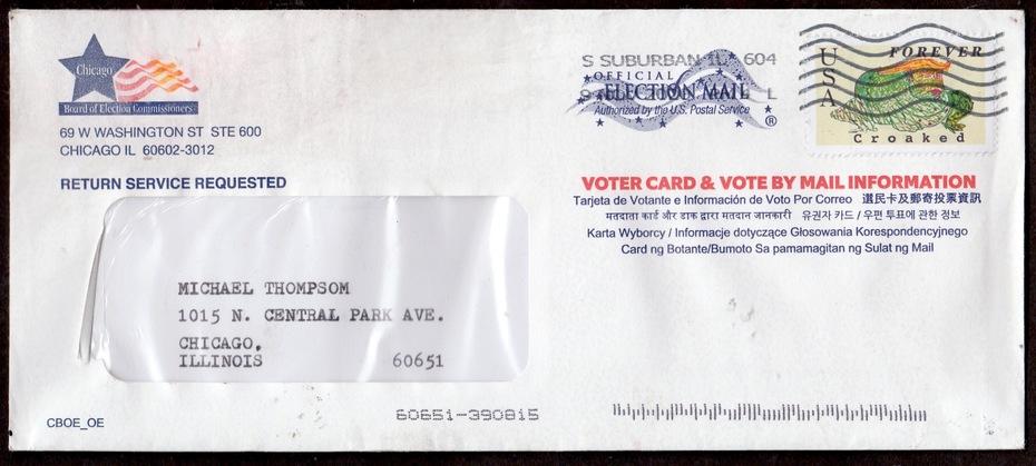 Trump envelope