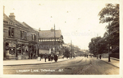Lordship Lane, at Junction with Bruce Grove, c1905