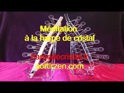 Méditation harpe de cristal