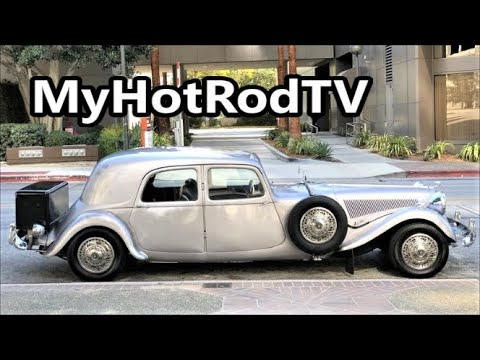 1950 Citroen Stretched Custom Restomod 4-sale