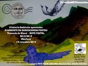 Cartaz III salãoARTEcorreios - O Gabinete de curiosidades postais. - 2019