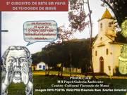 Cartaz do 2º Circuito de Arte em Papel de Visconde de Mauá - 2019