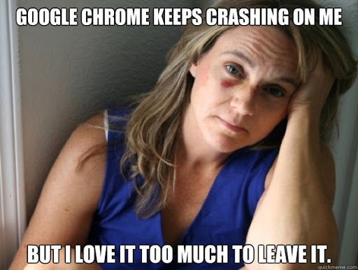 Battered Web User Sydrome