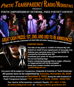 Free Poetry Contest with Cash Prizes
