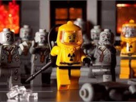 Lego stopmotion zombie prank!!!