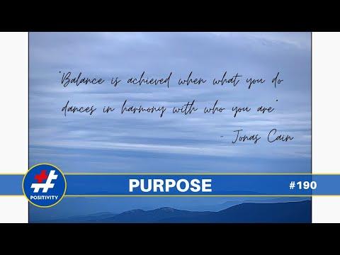 The Magic Word is Purpose