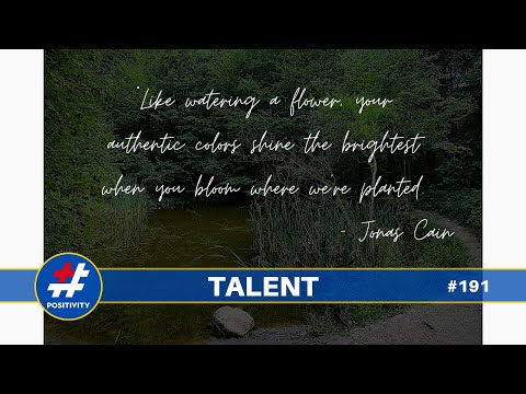 The Magic Word is Talent