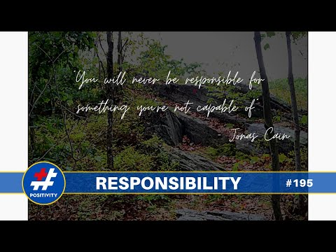 The Magic Word is Responsibility