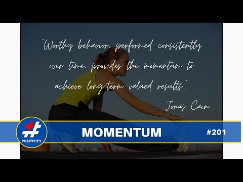 The Magic Word is Momentum