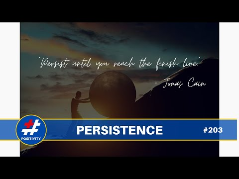 The Magic Word is Persistence