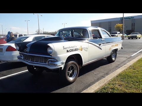 Chariots Of Fire Turkey Run Car Show Video 4