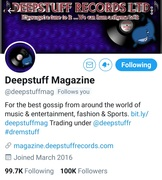Deepstuff Magazine..  Young Gifted Entertainment.. https://www.facebook.com/136292470368921/posts/652565078741655/