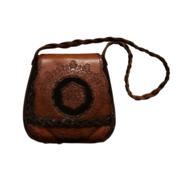 Vintage Tooled Leather Handbags