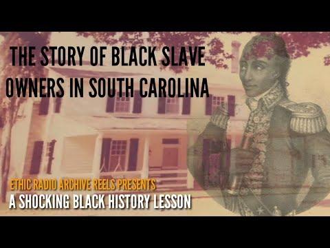 Shocking History: William Ellison And Anthony Johnson Were Black Slave Owners