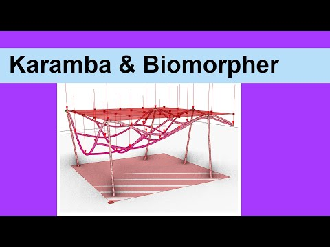 Karamba 3D & Biomorpher Optimization