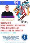 webinar:HERRAMIENTAS CREATIVAS PARA DESARROLLAR PROYECTOS DE IMPACTO