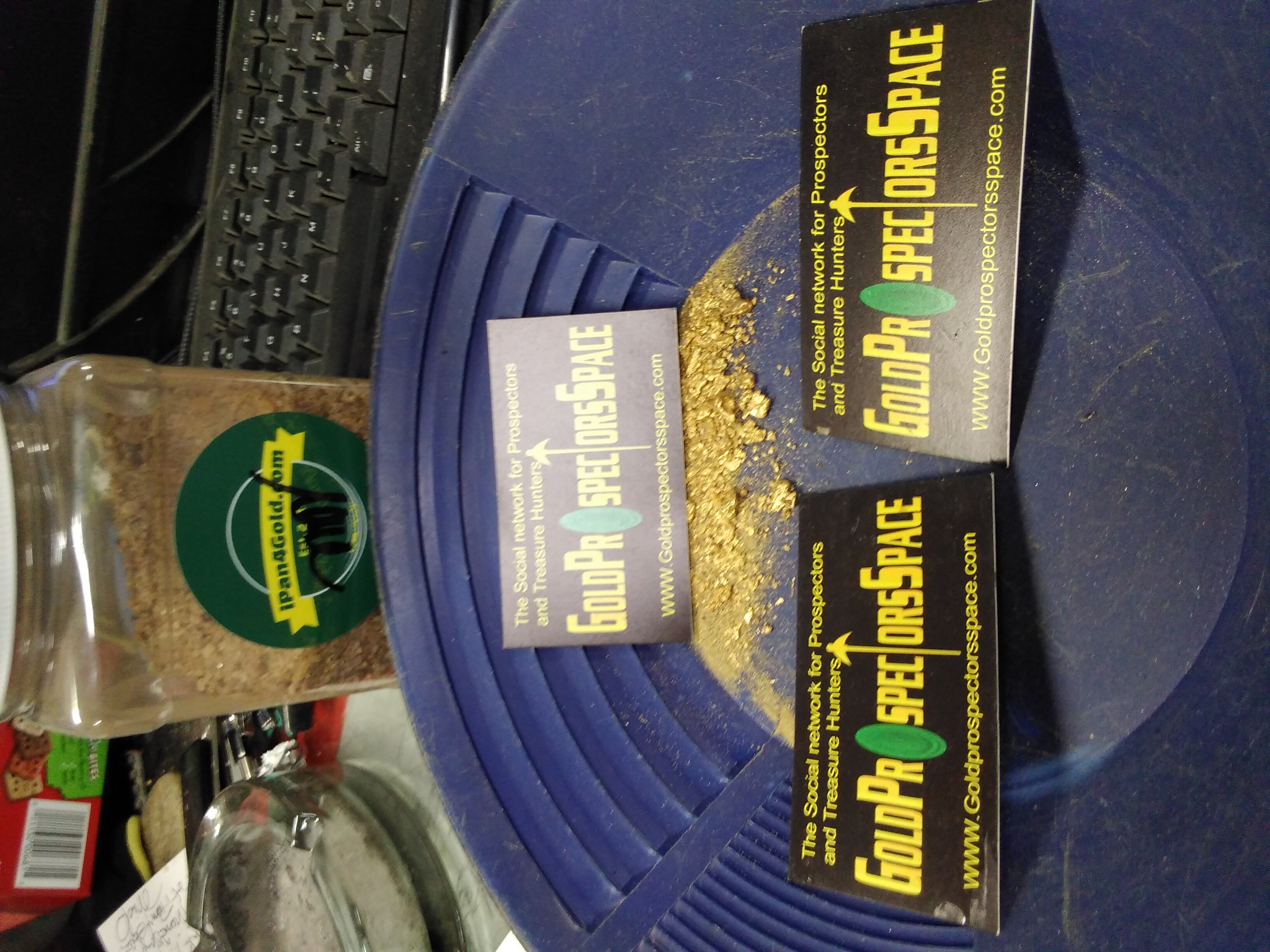 Im Thankful to gold prospectors space and IPan4Gold