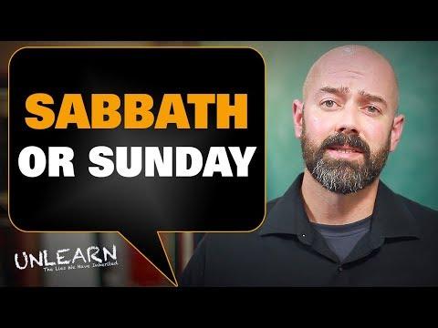 Should Christians keep the Sabbath or Sunday?