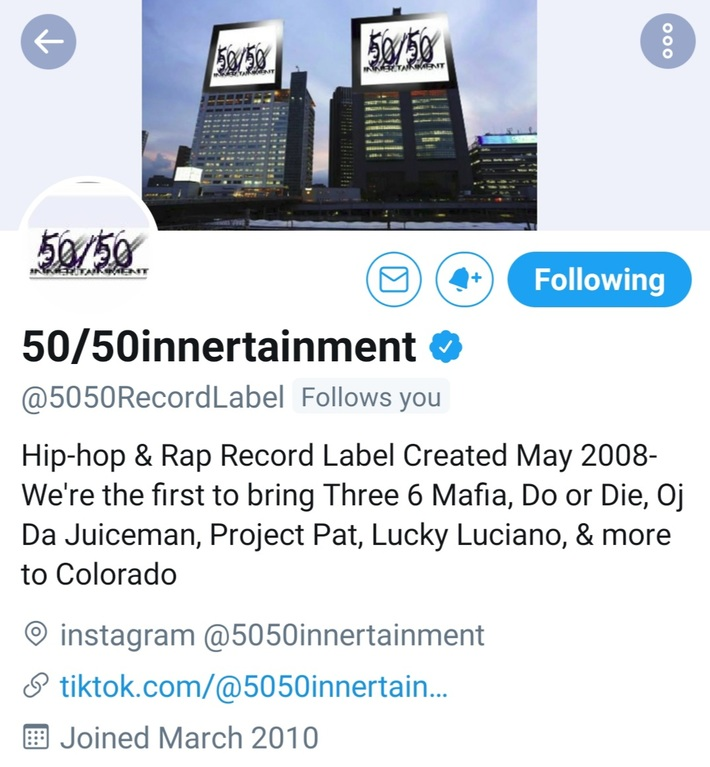 50/50intertainment  #Grrr Young Gifted Entertainment.. https://www.facebook.com/136292470368921/posts/653775875287242/