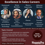 Excellence in Sales Careers