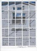 """artistamps-Adam R-""""Fractured Window"""""""