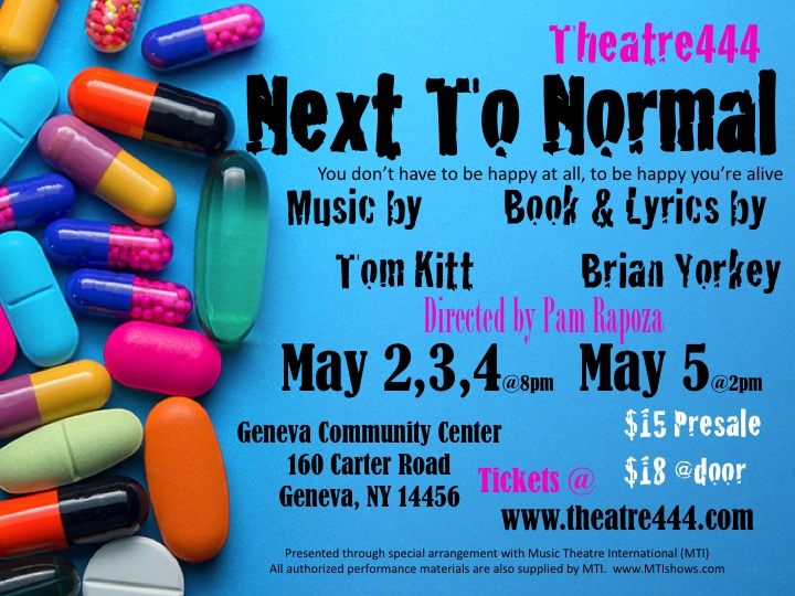 Auditions for Next To Normal, a FLX Premiere!
