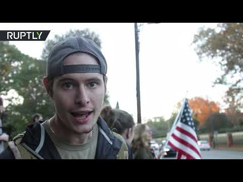 'We love this nation' | Pro-Trump supporters rally in Atlanta
