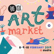 "งาน ""happening and friends: Art Market"""