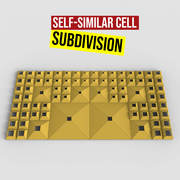 Self Similar Cell Subdivision