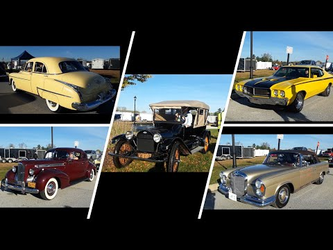 AACA Special Fall Nationals Driving On the Field Video 3