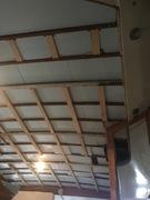 Aft deck headliner refinish and insulation.
