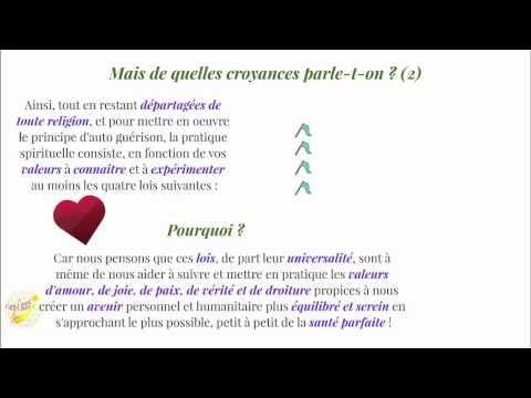"Auto-guérison - site ""entrecoeurs.org"""