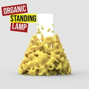 Organic Standing Lamp