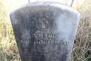 PFC Peter Breakbill died in 1798.. served in the Rev. War