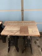 Maintenance varnish on name boards and flybridge hatch