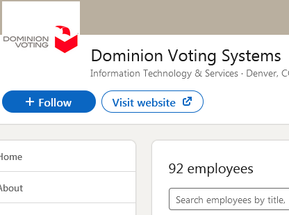 Dominion Voting Nov 23 2020