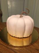 Pink pumpkin cake