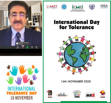 International Day of Tolerance Observed at ICMEI