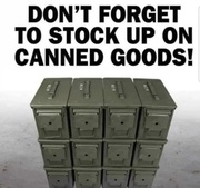 Canned goods are essential