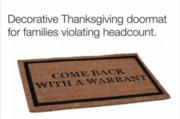 Got a new front door mat for Thanksgiving