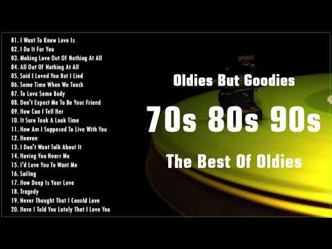 Nonstop 60s 70s 80s Greatest Hits Best Oldies Songs | The Best Oldies Love Song Ever