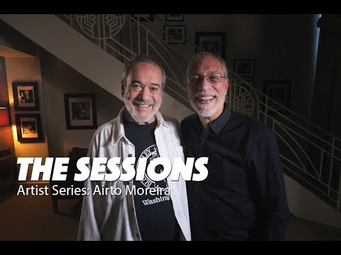 AIRTO MOREIRA -  Brazilian jazz drummer/percussionist, played with biggest names in music!