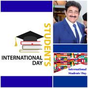 International Students Day Celebrated at AAFT University